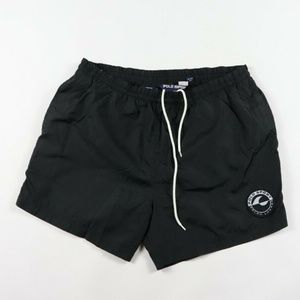 Vintage Polo Sport Cookie Wave Patch Swim Trunks